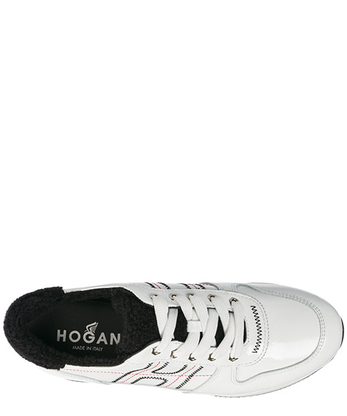 Scarpe sneakers donna in pelle h222 secondary image