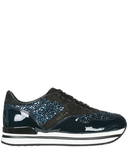 Sneakers Hogan H222 HXW2220N622CRQ896B blu denim