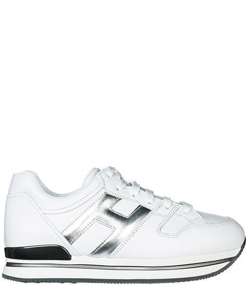 Sneakers Hogan H222 HXW2220T548JCZ0351 argento bianco