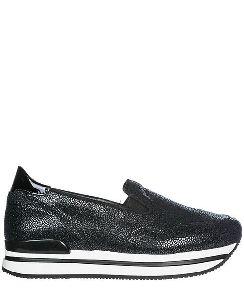 Scarpe slip on Hogan H222 HXW2220T671I8CB999 nero