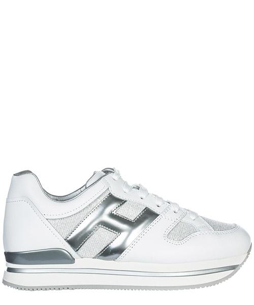 Sneakers Hogan H222 HXW2220U352I840906 argento bianco