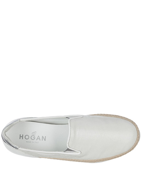 Slip on donna in pelle sneakers  h222 secondary image
