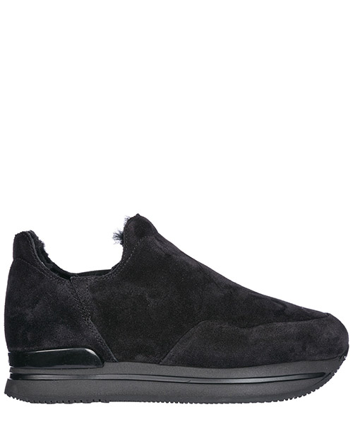 Scarpe slip on Hogan HXW2220Y730BYEB999 nero