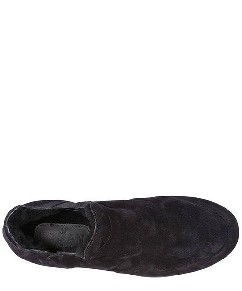 Damen wildleder slip on slipper sneakers  h222 secondary image