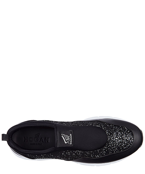 Slip on donna in pelle sneakers  h254 traditional secondary image