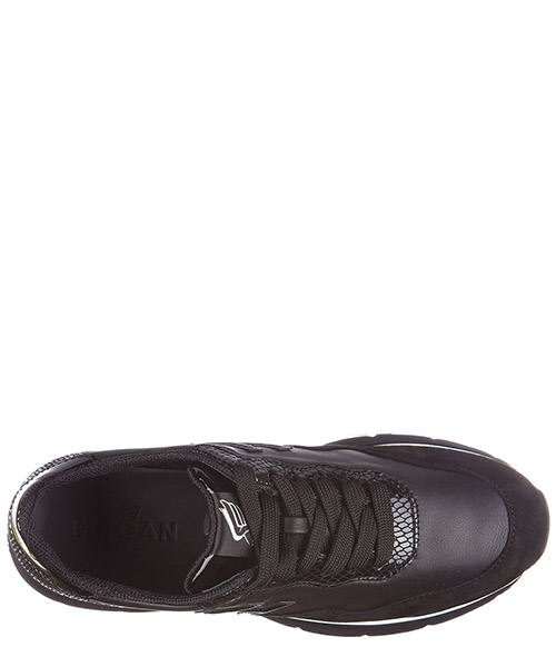 Scarpe sneakers donna in pelle h254 traditional 2015 secondary image
