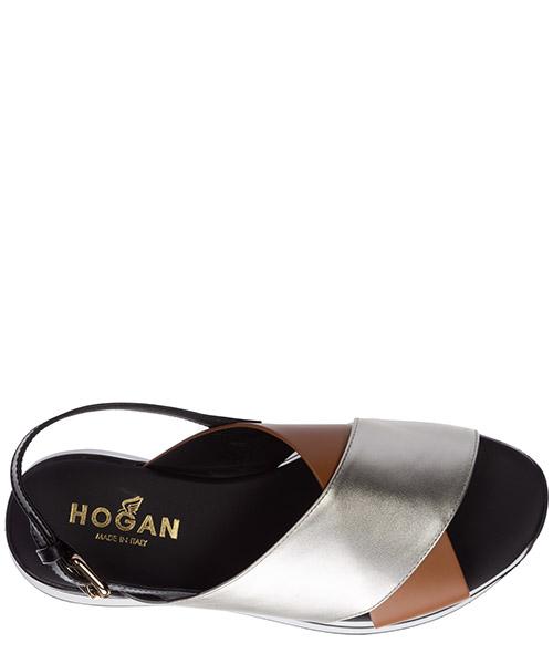 Damen leder sandalen sandaletten  h222 secondary image