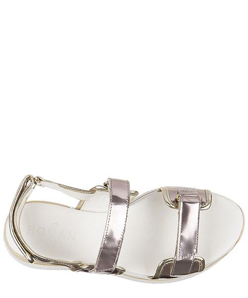 Women's leather sandals  h257 fasce strap secondary image