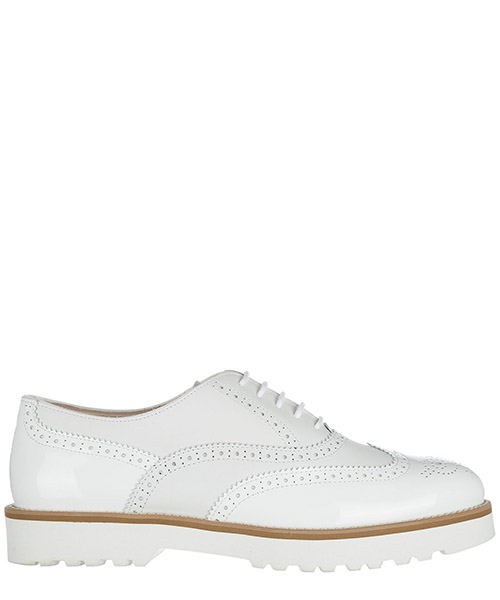 Hochhackige Oxfords Hogan HXW2590R3208EPB001 bianco