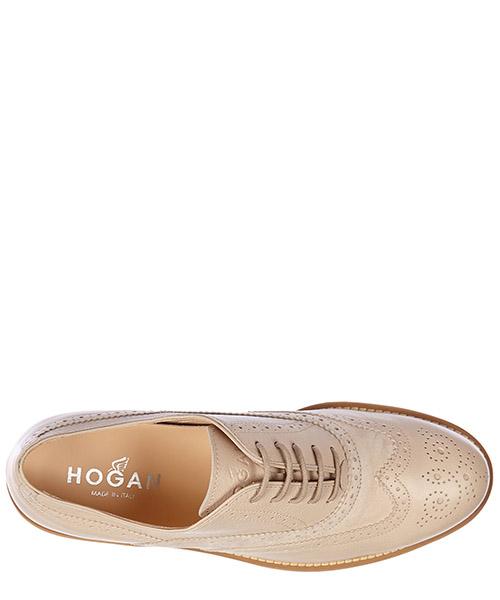 Chaussures à lacets classiques femme en cuir h259 brogue route secondary image
