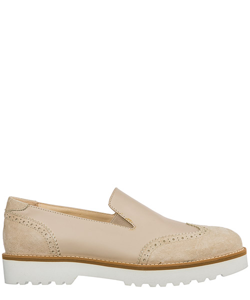 Slip-on Hogan h259 hxw2590r3308esm024 beige