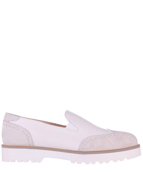 Slip on shoes Hogan H259 HXW2590R330CHT0222 bianco ghiaccio