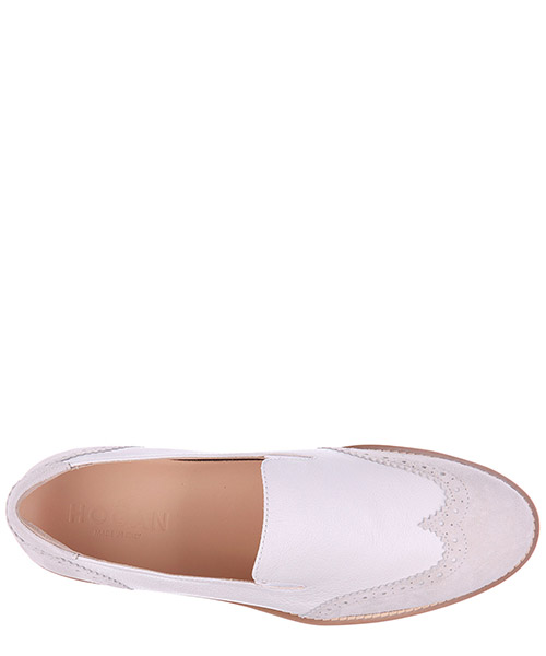 Women's leather slip on sneakers  h259 route secondary image