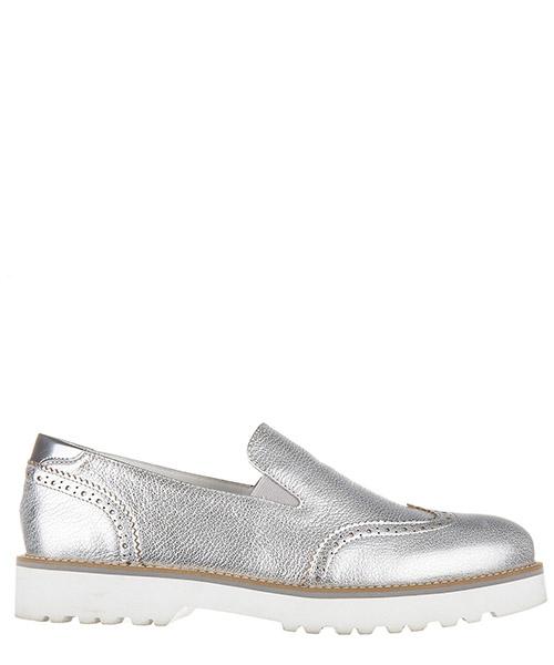 Slip on shoes Hogan HXW2590R330CJ6B200 argento