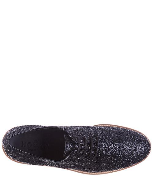 классические туфли на шнурках женские кожаные derby glitter secondary image