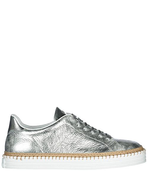 Sneakers Hogan R260 HXW2600AD70IQYB200 argento