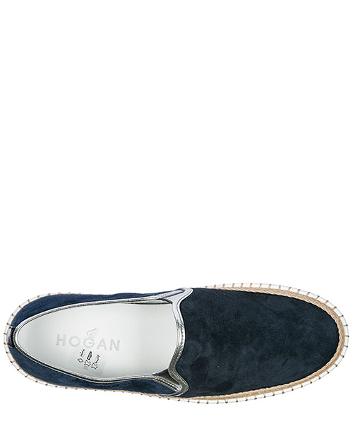 Damen wildleder slip on slipper sneakers  r260 secondary image