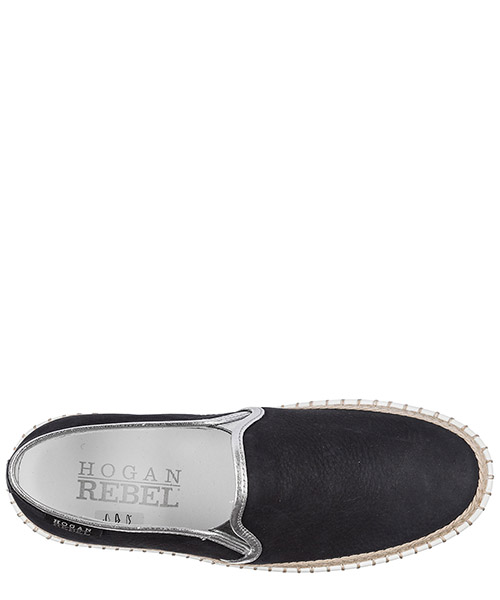 Slip on donna in pelle sneakers  r260 secondary image