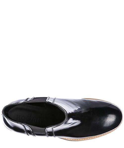 Stivaletti stivali donna con tacco in pelle h277 secondary image