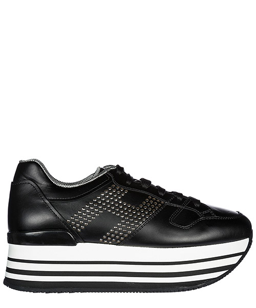 Wedge sneakers Hogan H283 HXW2830AA70KLAB999 nero