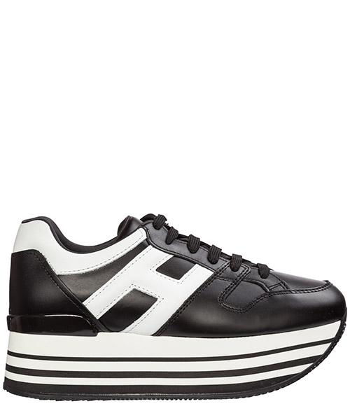 Wedge sneakers Hogan maxi h222 hxw2830t548hqk0002 nero