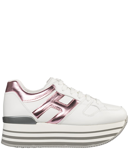 Wedge sneakers Hogan Maxi H222 HXW2830T548I6W0XVW bianco