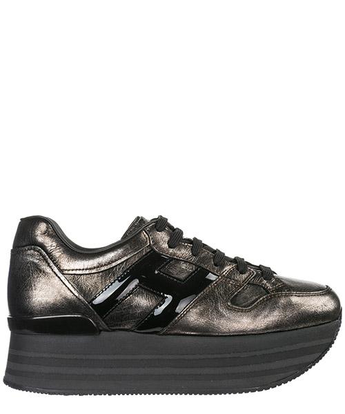 Zapatillas de cuña Hogan Maxi H222 HXW2830T548JD81642 argento