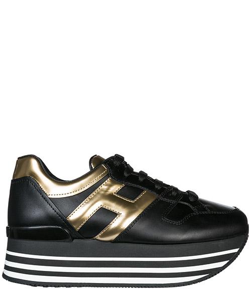 Wedge sneakers Hogan H283 HXW2830T548JDS0JK7 nero