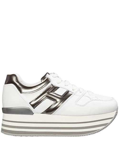 Wedge sneakers Hogan maxi h222 hxw2830t548jds4999 bianco