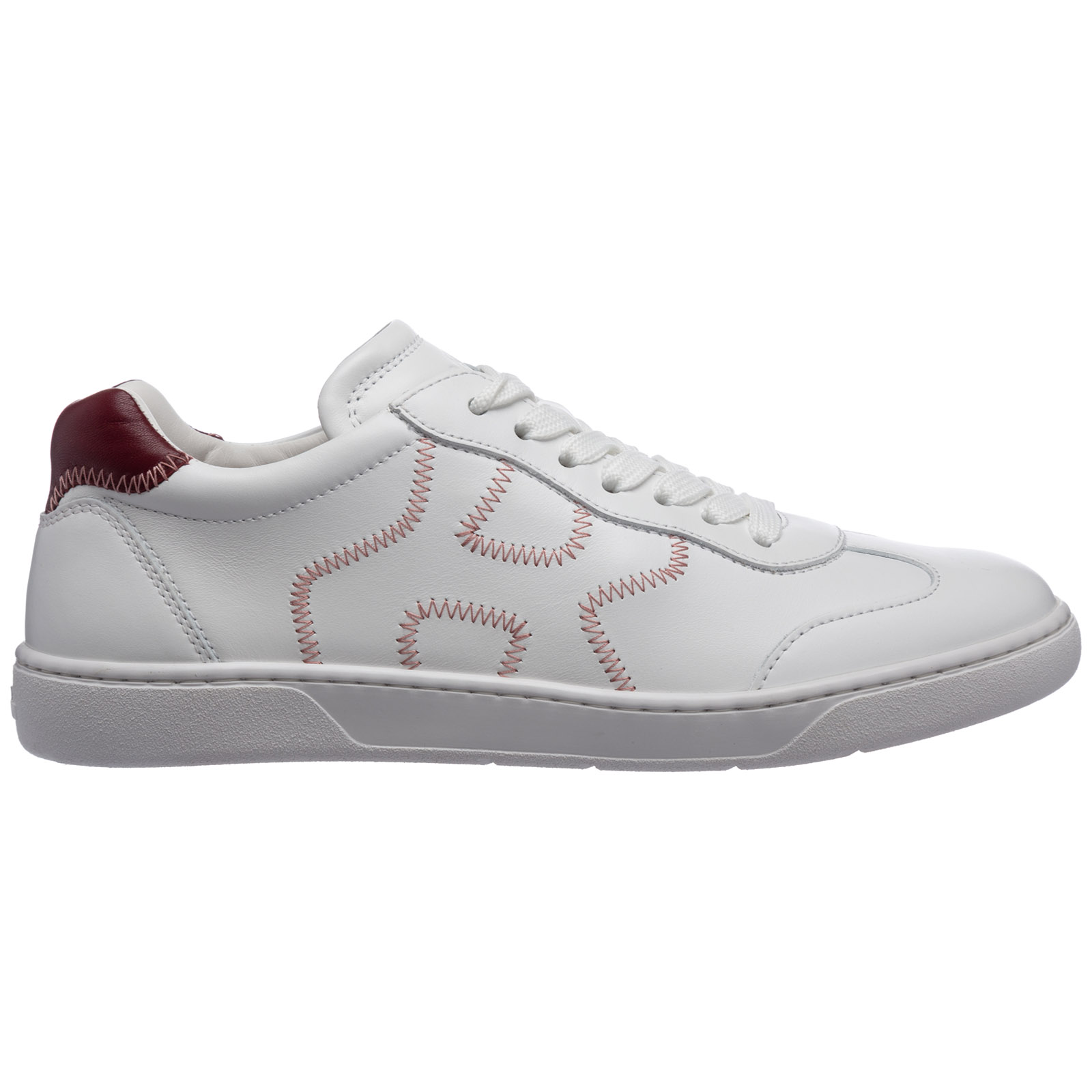 Hogan Leathers WOMEN'S SHOES LEATHER TRAINERS SNEAKERS H327