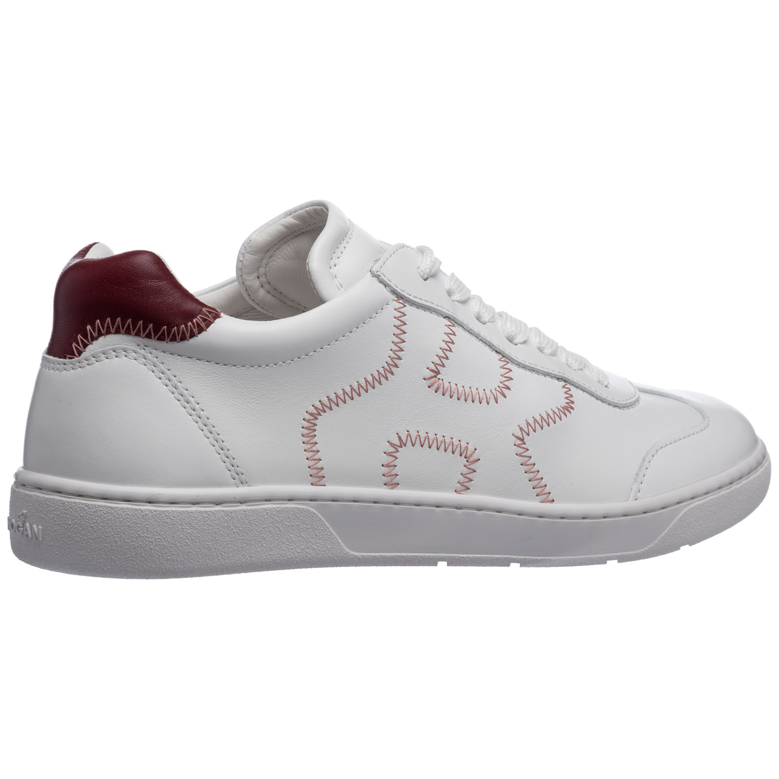 Scarpe sneakers donna in pelle h327
