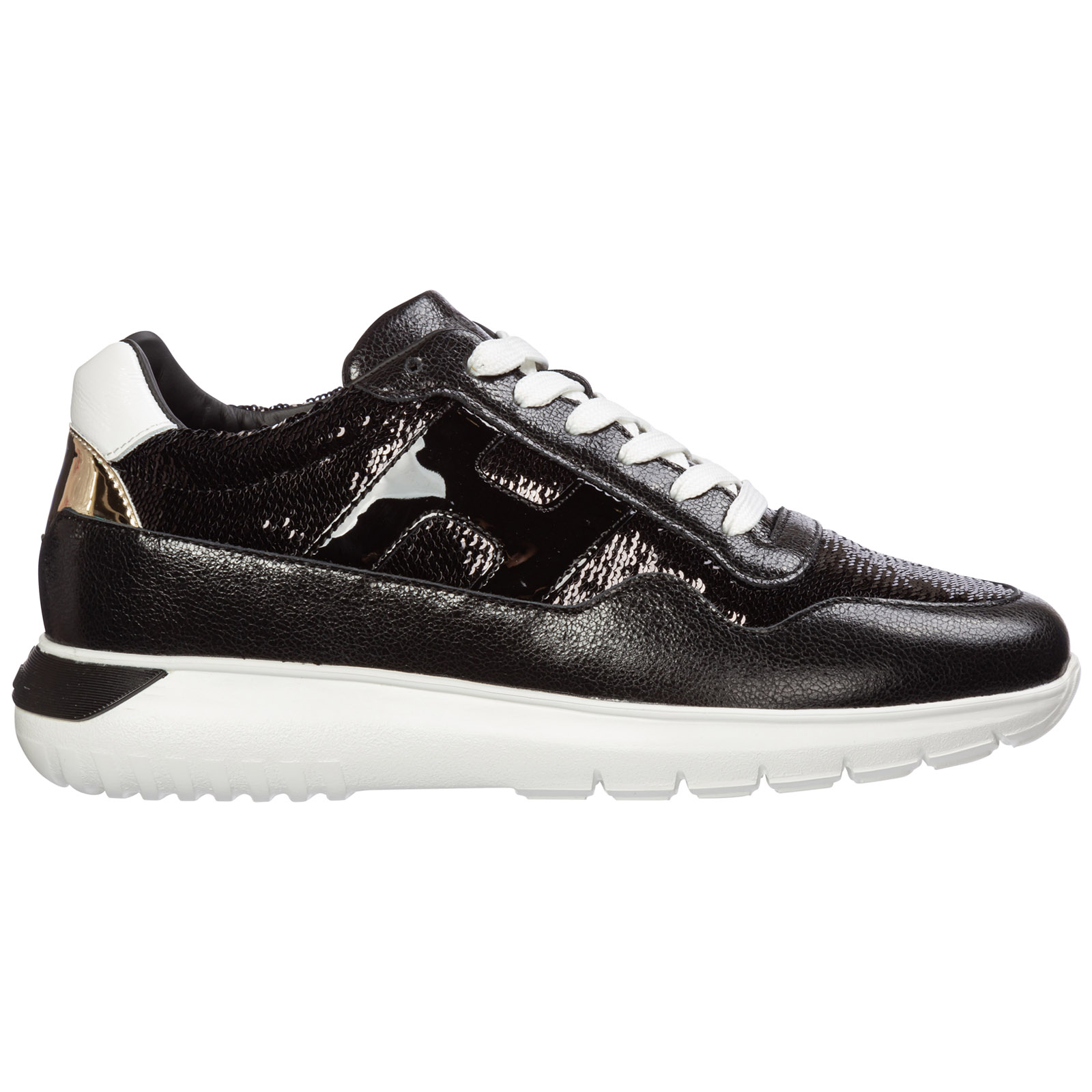 Hogan Women's Shoes Leather Trainers Sneakers Interactive3 In ...