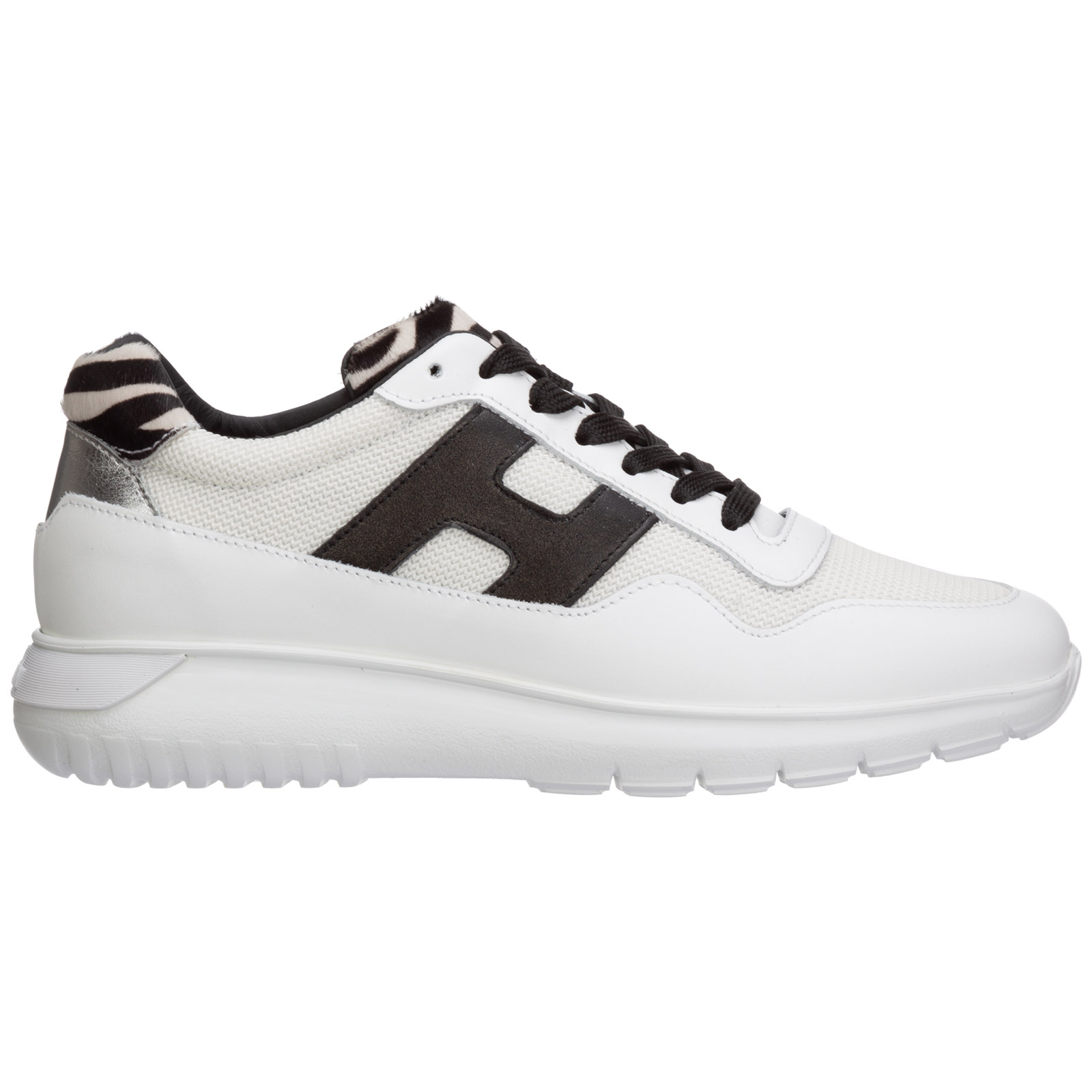 Women's shoes leather trainers sneakers interactive3 cube