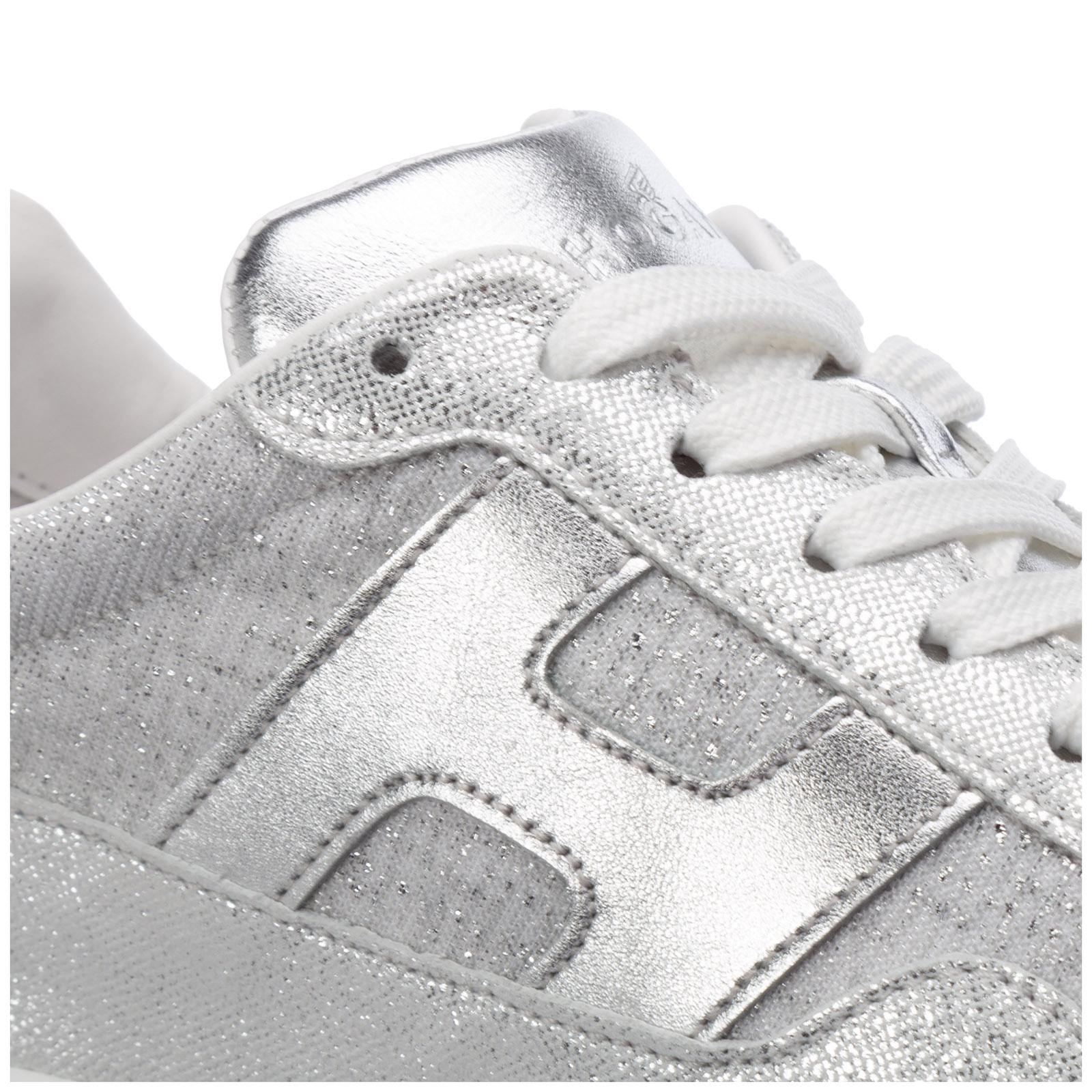 Women's shoes leather trainers sneakers interactive³
