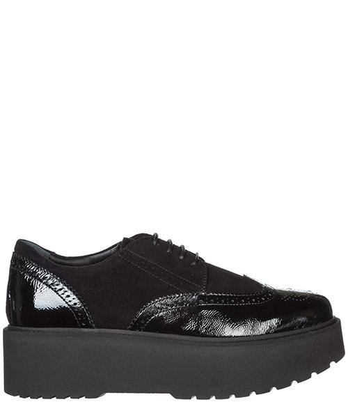 Zapatos de cordon Hogan H355 HXW3550AB00O2OB999 nero