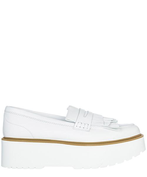 Mocassini Hogan H355 HXW3550AF10IWEB001 bianco
