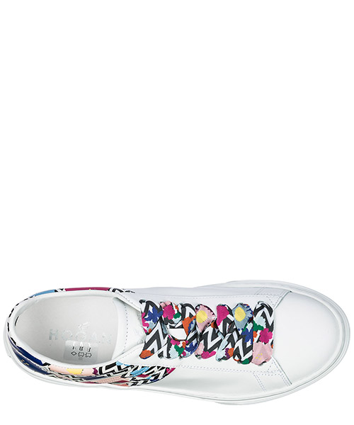 Scarpe sneakers donna in pelle h365 secondary image