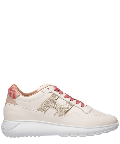 Women's shoes leather trainers sneakers interactive3