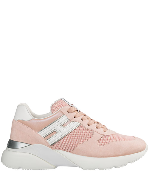 Women's shoes suede trainers sneakers active one