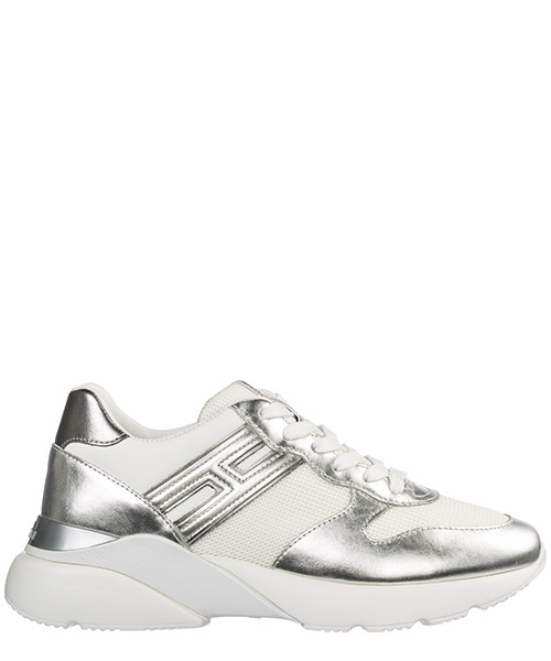 Women's shoes leather trainers sneakers active one