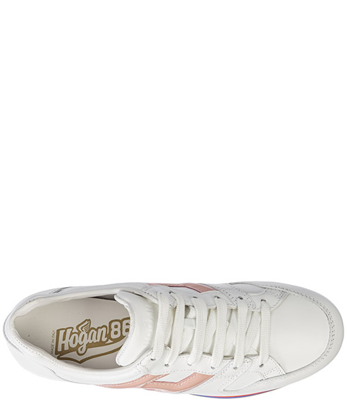 Scarpe sneakers donna in pelle maxi h222 secondary image