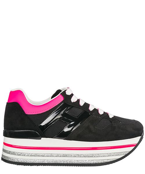 Wedge sneakers Hogan Maxi H222 HXW4220U352KWRA34A nero