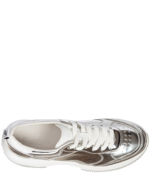 Women's shoes leather trainers sneakers maxi i active secondary image