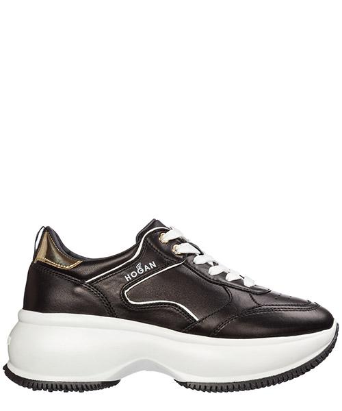 Wedge sneakers Hogan maxi i active hxw4350bz50lok547d nero