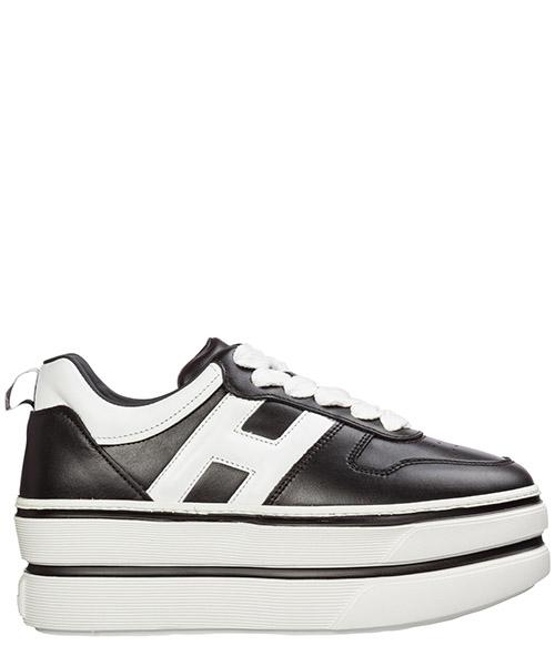 Wedge sneakers Hogan h449 hxw4490bs01kla0002 nero