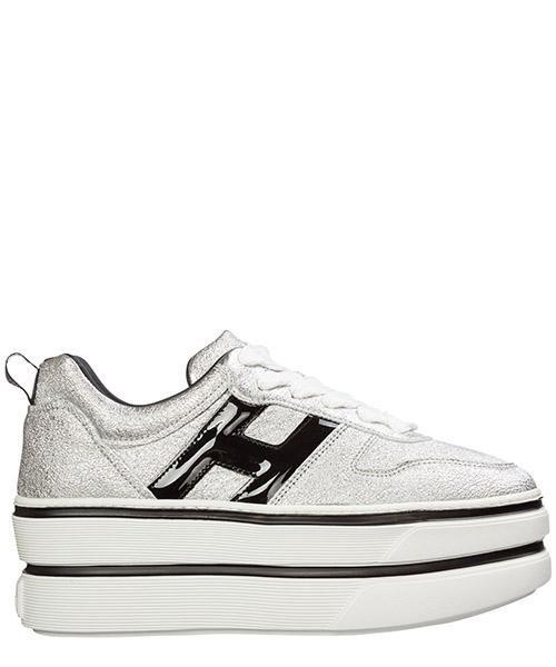 Wedge sneakers Hogan h449 hxw4490bs01lkm1920 argento
