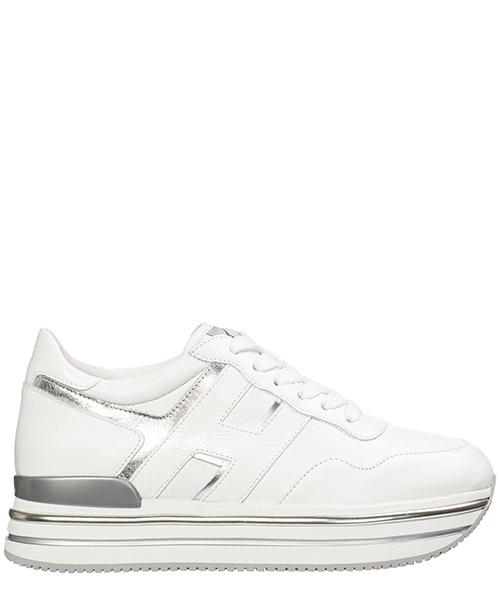 Sneakers Hogan midi platform hxw4680cb80lwt0351 bianco