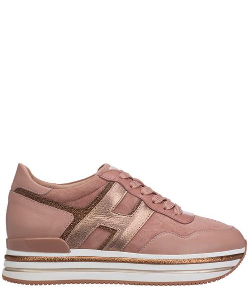 Sneakers Hogan midi h222 HXW4680CB80OBP0PSV rosa