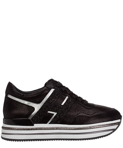 Sneakers Hogan midi h222 HXW4680CB80OBQ0353 nero