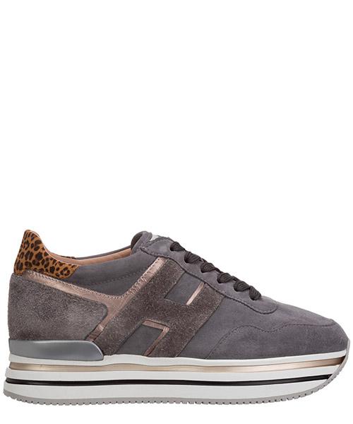 Sneakers Hogan midi h222 HXW4830CB80OBK0PSQ grigio